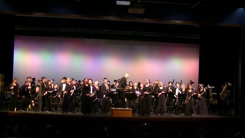 Winter Concert, Symphonic Band