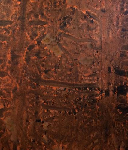 OFF WORLD mixed media on canvas 220x250cm