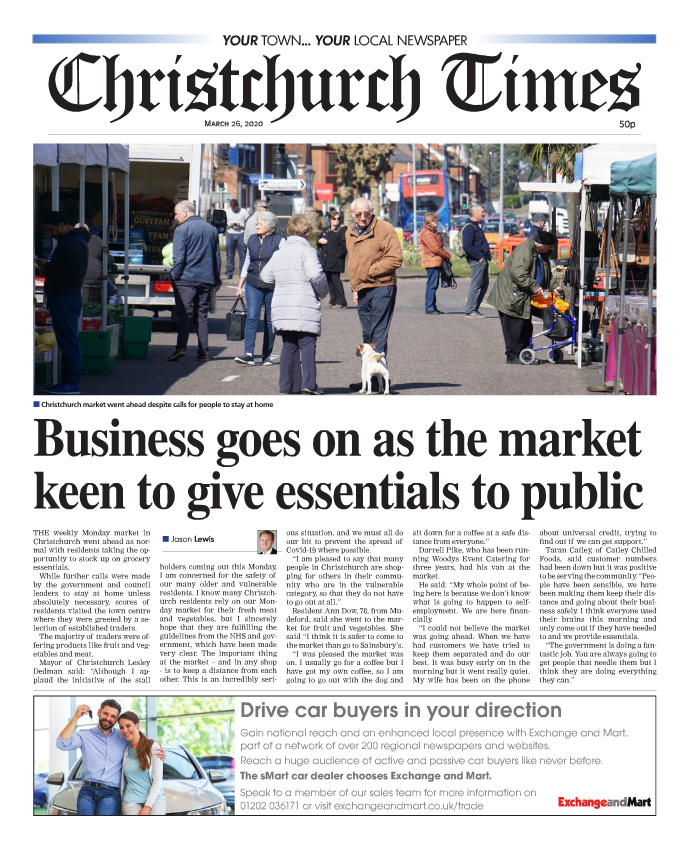 Christchurch Times Newspaper