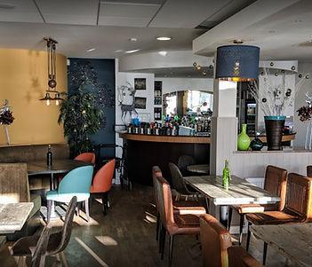 Cliffhanger Café interior
