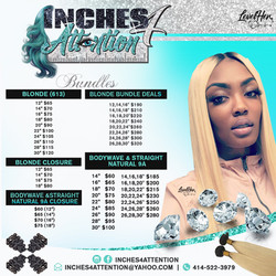 BUNDLES PRICE LIST FLYER