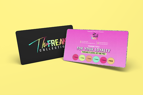 Credit Business Card Design