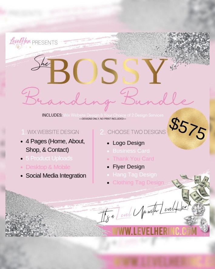 Bossy Branding Bundle   levelherinc