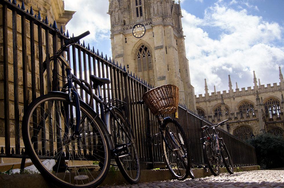 Bicycles at Oxford University.jpg