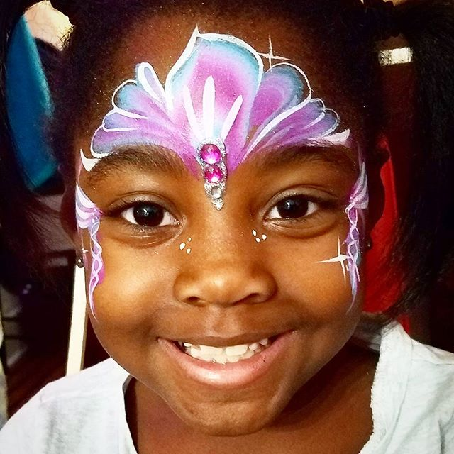 Super cute!_#nanycaritas  #facepainternyc #brooklynfacepainter