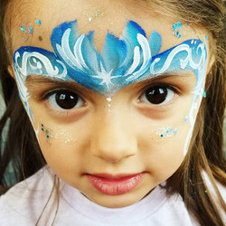 Frozen Face Painting