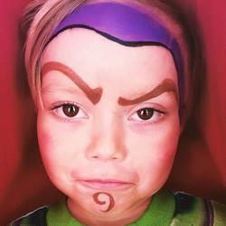 I love this #buzz #facepaint #buzzfacepainting #buzzlightyear #facepaintingNYC #nanycaritas #toystor
