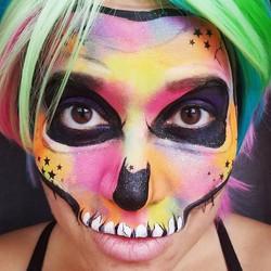 Hello!_My face for Halloween!__#Happyhal