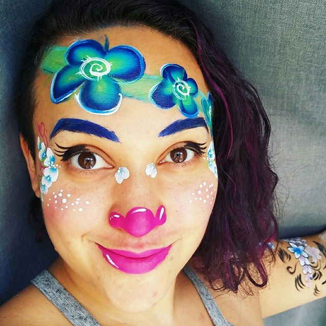 Welcome to my new Face Painter profile._This space will be dedicated to share all of my face and bod