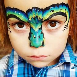 My favorite monster!__#nanycaritas #brooklynfacepainter #facepainting #newyorkfacepainter #facepaint