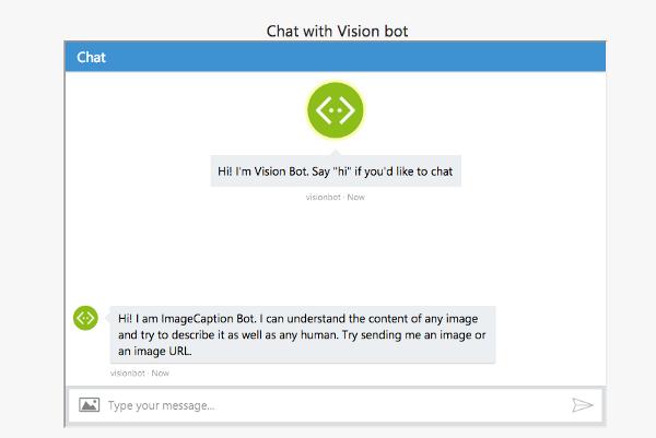 Microsoft's vision bot