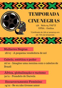 Temporada Cine Negras. 2018png
