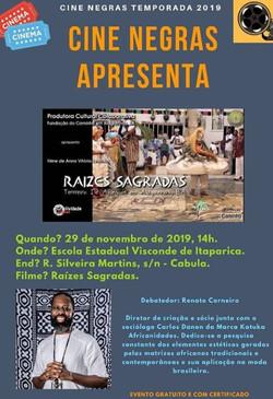 11. 2019 Cine negras 29_11_19