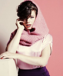 Elise Schaap in Linda mode