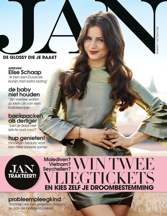 Elise Schaap cover Jan