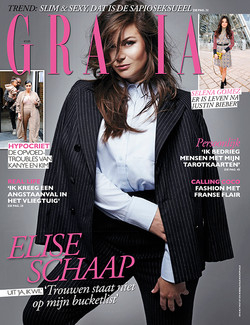 Elise Schaap cover Grazia