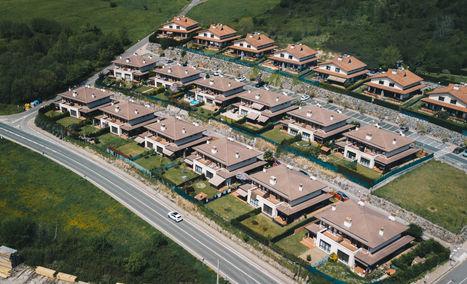 Urbanización desde el aire