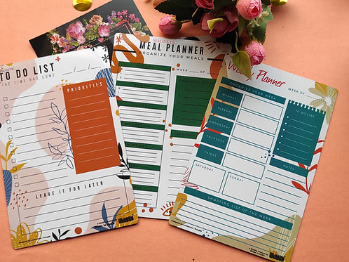 MAGNETIC PLANNERS COMBO