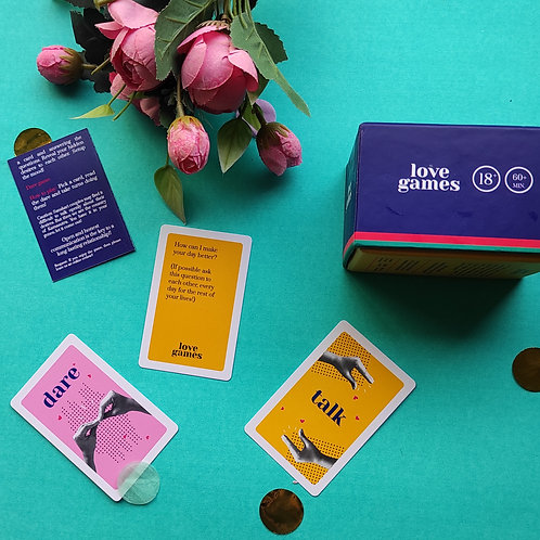 LOVE GAMES FLASH CARDS
