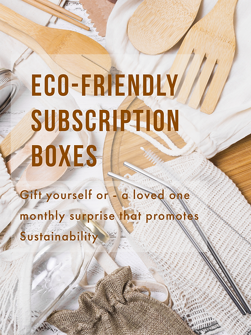 THE SUSTAINABLE LIFESTYLE BOX
