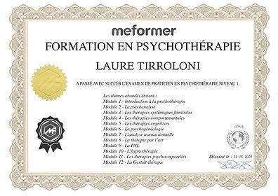 CERTIFICAT-Psychothérapie-LAURE_tirrolo