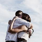 amantes Abraço