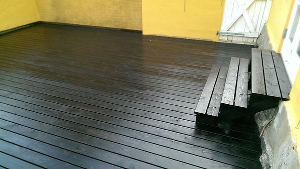 Superword terrasse, træterrasse