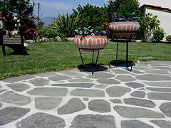 Vi bygger professionelle sten terrasser