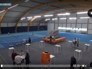 Nouvelles installations de squash et de tennis au TC Marche