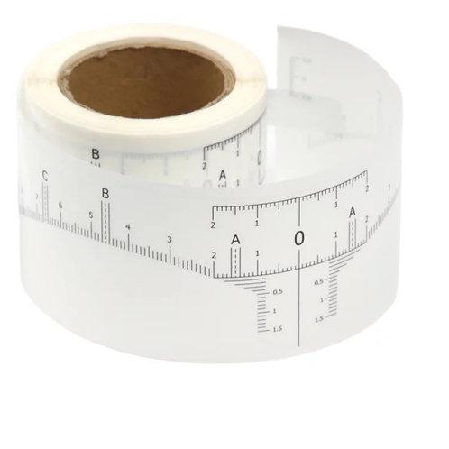 Brow Measuring Sticker 50 roll