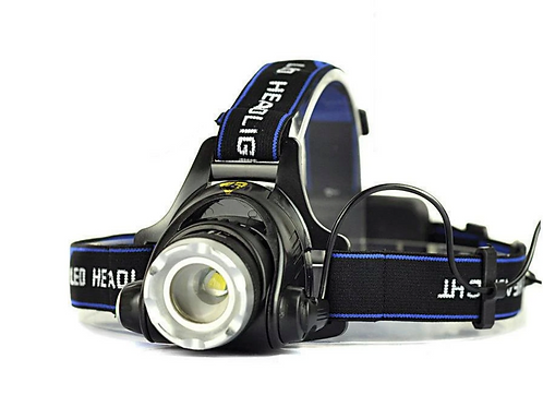 LED Head Lamp (Rechargeable) - 1800 Lumens - Zoomable
