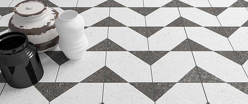 Graphite Terrazzo Porcelain Tile Daltile Dallas Design District Amara