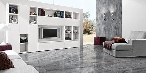 "SOPRANO- Platinum Grey  60""X 60"""