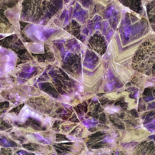 amethyst quartz slab