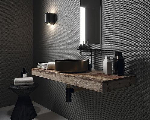Grey Dot Tile, Restroom Modern Tile, Texas