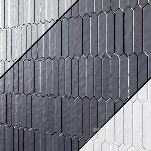 Gradient Crayon Matte Black Ceramic Tile Ann Sacks Dallas Burlington Design Gallery