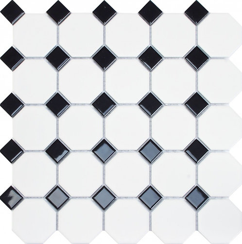 Oxford Black Mosaic