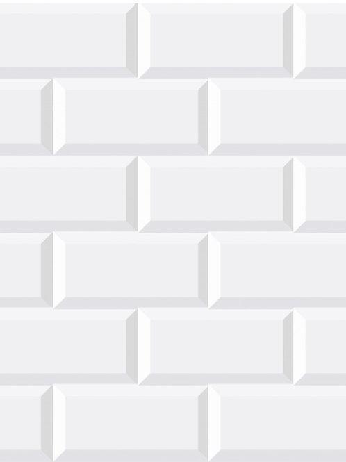 Mosaico Minimetro Blanco White Tile