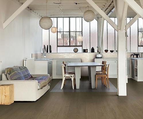 Brown Italian Porcelain Floor Tile Wood Look Irving