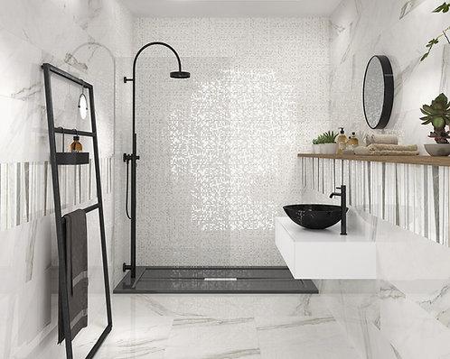 Burlington Design Gallery Calacatta Lux Mosaic Tile Artistic tile