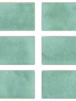 WOW Lake Gloss Green Porcelain Wall floor tile Burlington Design Gallery Irving Ann Sacks