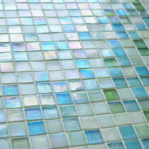 Glass Mosaic Green Pool Tile Burlington Design Gallery Dallas Design District Amara