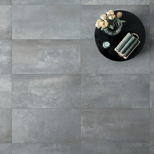 Grey Porcelain Tile Ann Sacks Dallas Livignroom