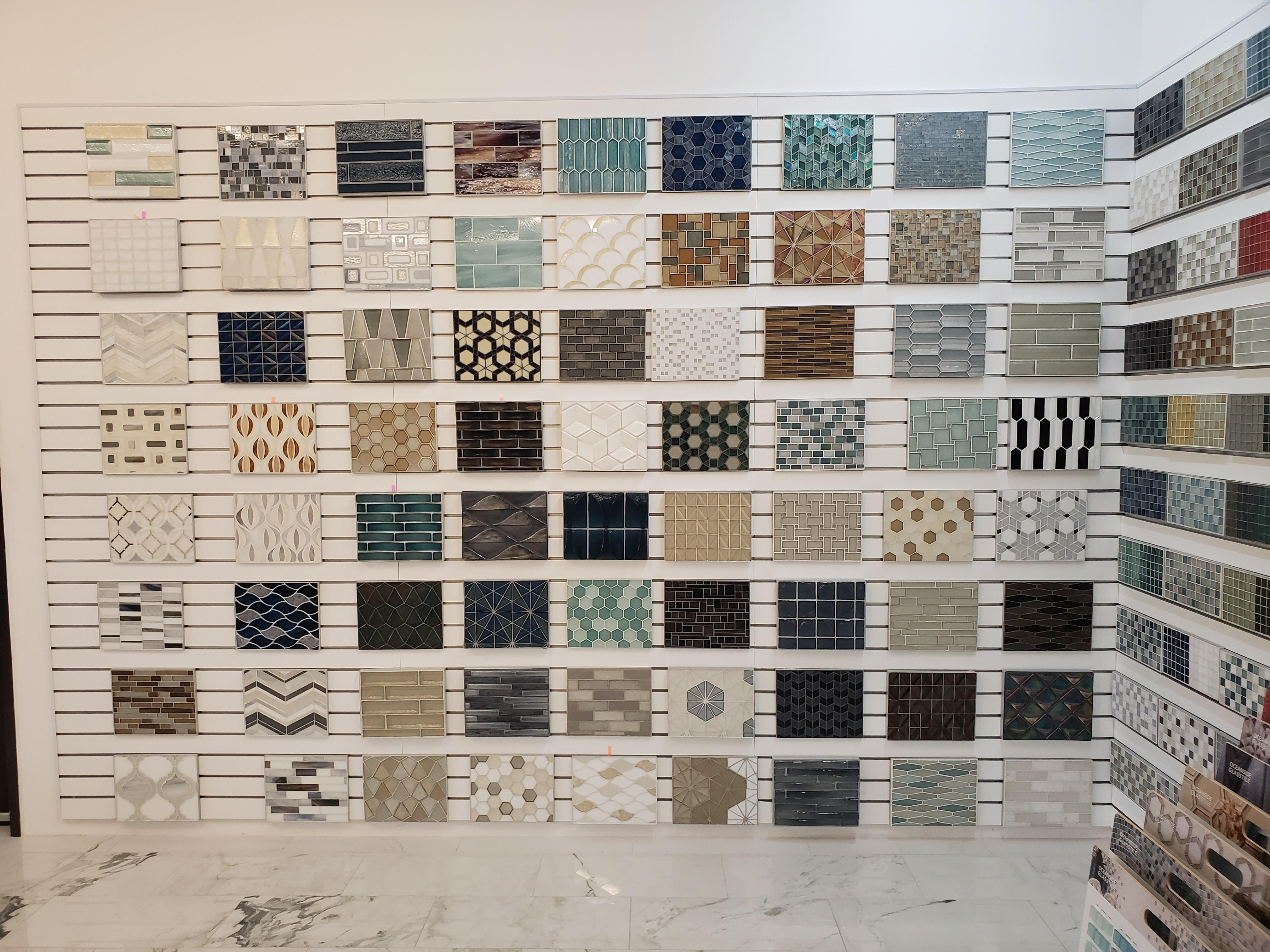 Virtual Online Slab + Tile Selections