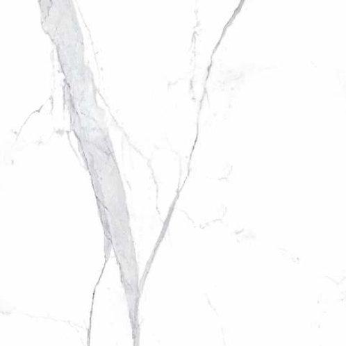 white marble look porcelain slab