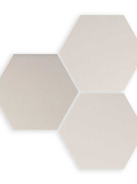 SIX HEX WHITE BURLINGTON DESIGN GALLERY IRVING TILE