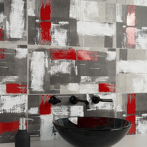 New York Decoro Rosso 12x24 Glazed Porcelain Tile