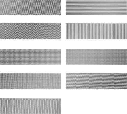 Gradient Decor Silver Matte Burlington Design Gallery Artistic Tile