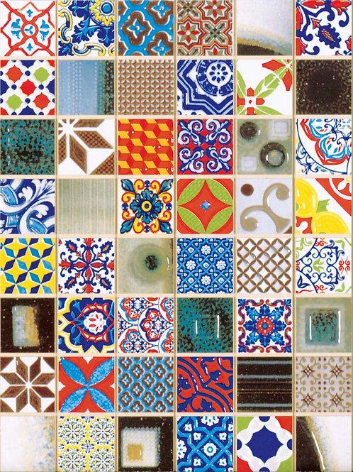 Artisan Ceramic Mosaic Wall Tile Burlington Design Gallery Irving TX