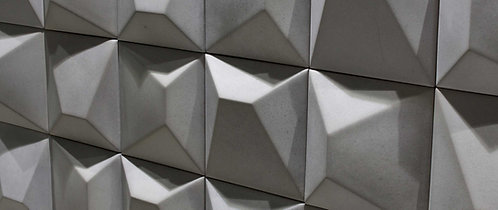 Concrete Ceramic Wall 3D Tile Bar Dallas